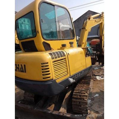二手35小挖机  小型YC35小挖机  玉柴国产小挖机
