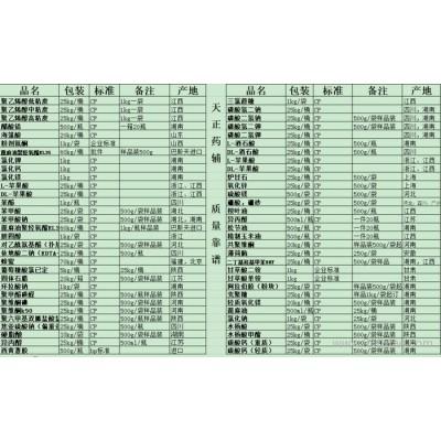 医药用级甘露醇吨位价格(符合2015药典)