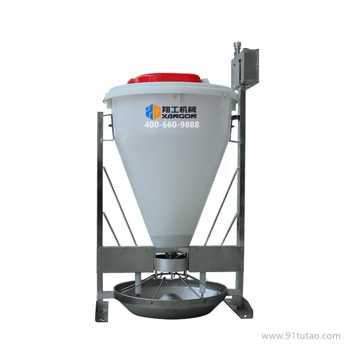 翔工机械粥料器智能下料自动停料加快小猪出栏天数的智能粥料器  可以定时下料的喂猪设备