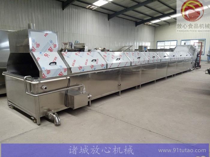 放心机械FX-1000 牛肉专用蒸煮机_全自动牛肉蒸煮机