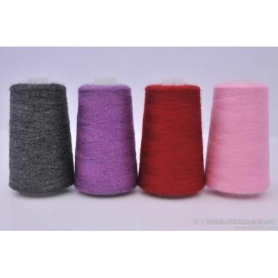 羊绒线山羊绒 批发低门槛 26/2 中细线 机织手编