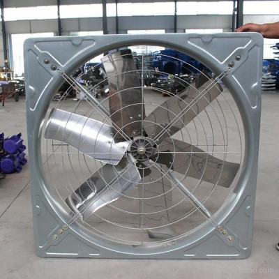 牛舍通风降温设备 夏季牛舍太热降温牛舍风机