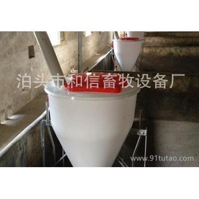 河北沧州和信畜牧干湿料槽 干湿双面育肥槽 育肥猪喂料器