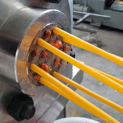 东北大米吸管生产流水线 大米吸管机器厂家大米吸管工艺