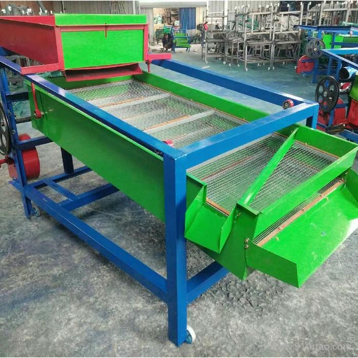新疆干果分级清理机 高产量震动型粮食筛选机 多功能粮食清选机