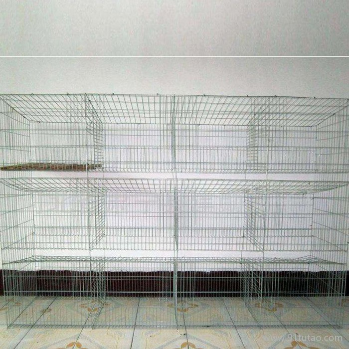 质保笼具  量大从优   养殖笼子 兔笼 成年兔笼 镀锌兔笼  商品兔笼