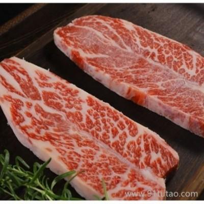 牛萃谷饲牛小排雪花牛肉澳洲进口安格斯牛小排