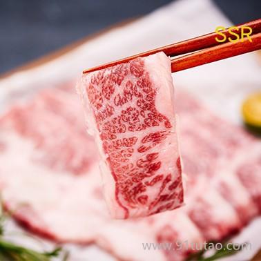 雪龙黑牛国宴同款一品雪花牛日本和牛繁育谷饲660天雪花牛