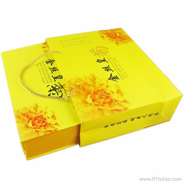 巴食巴适金丝皇菊盒装30枚袋泡菊花茶大菊花茶朵贡菊茶叶