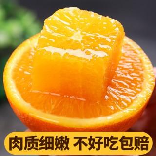 助农湖北秭归脐橙伦晚橙(5斤大果装12个左右)